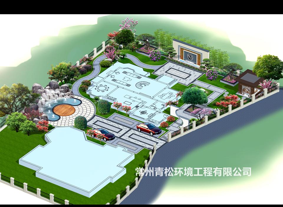 别墅绿化景观设计
